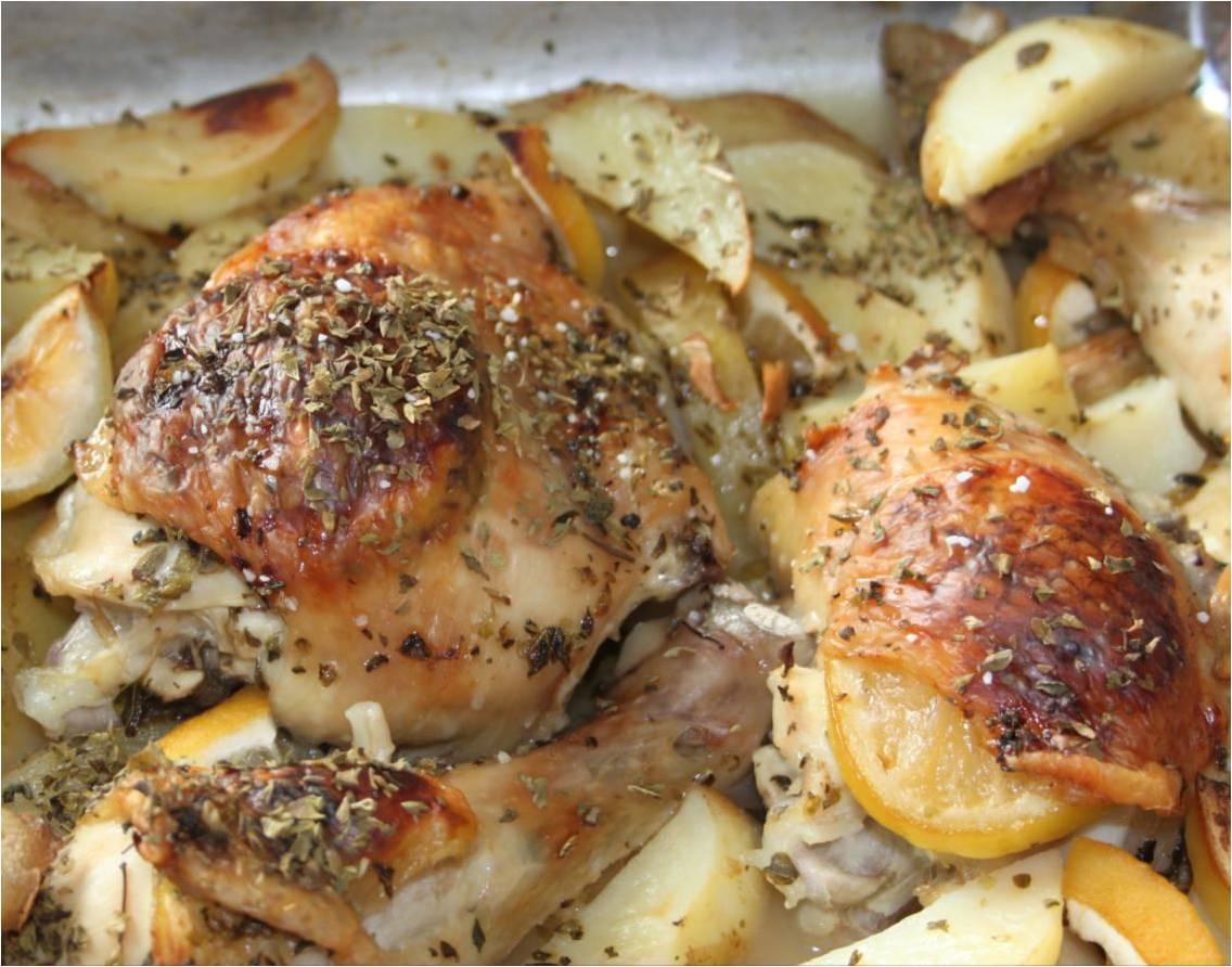 græsk kylling